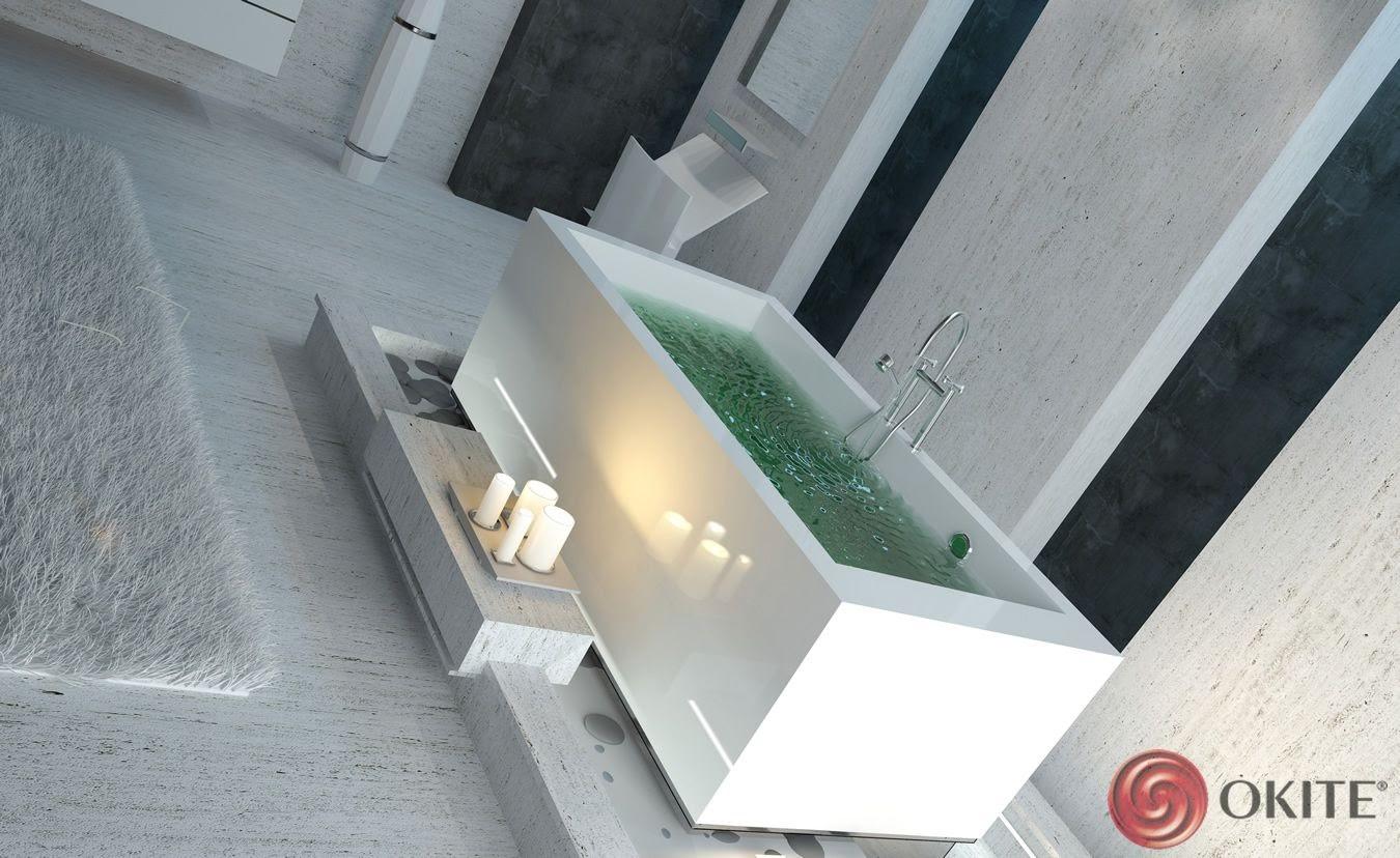 kúpeľňa z kameňa