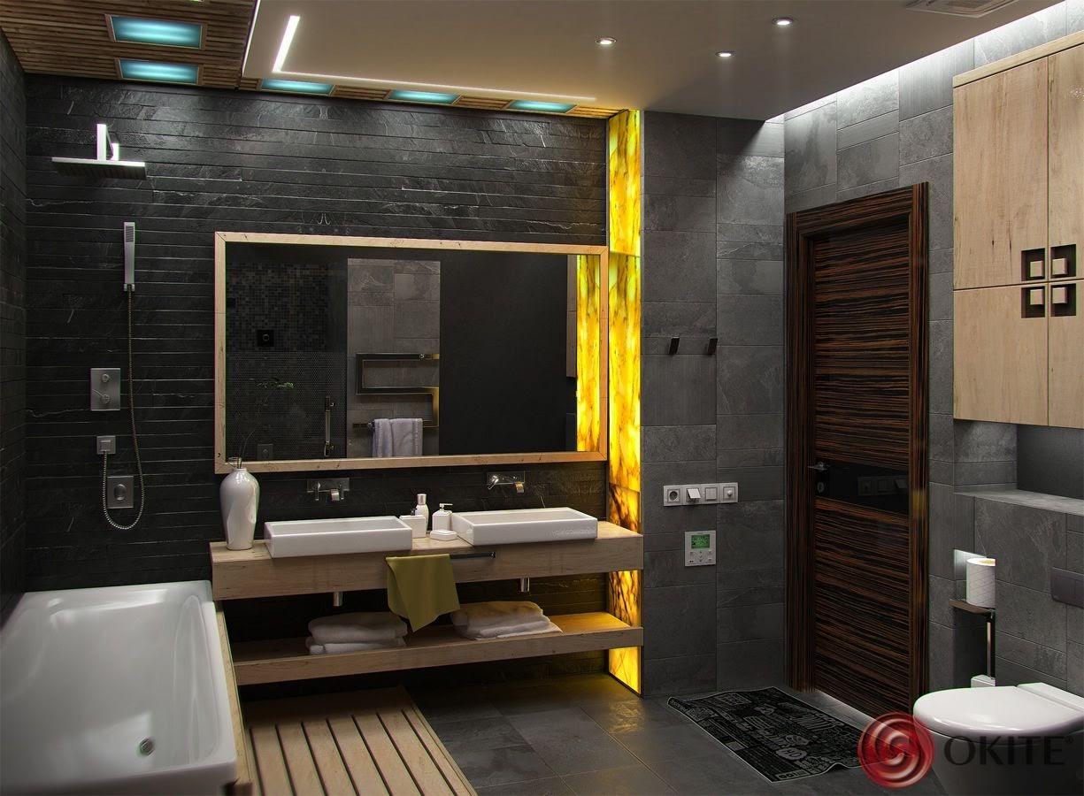 kamenný kúpeľňový obklad