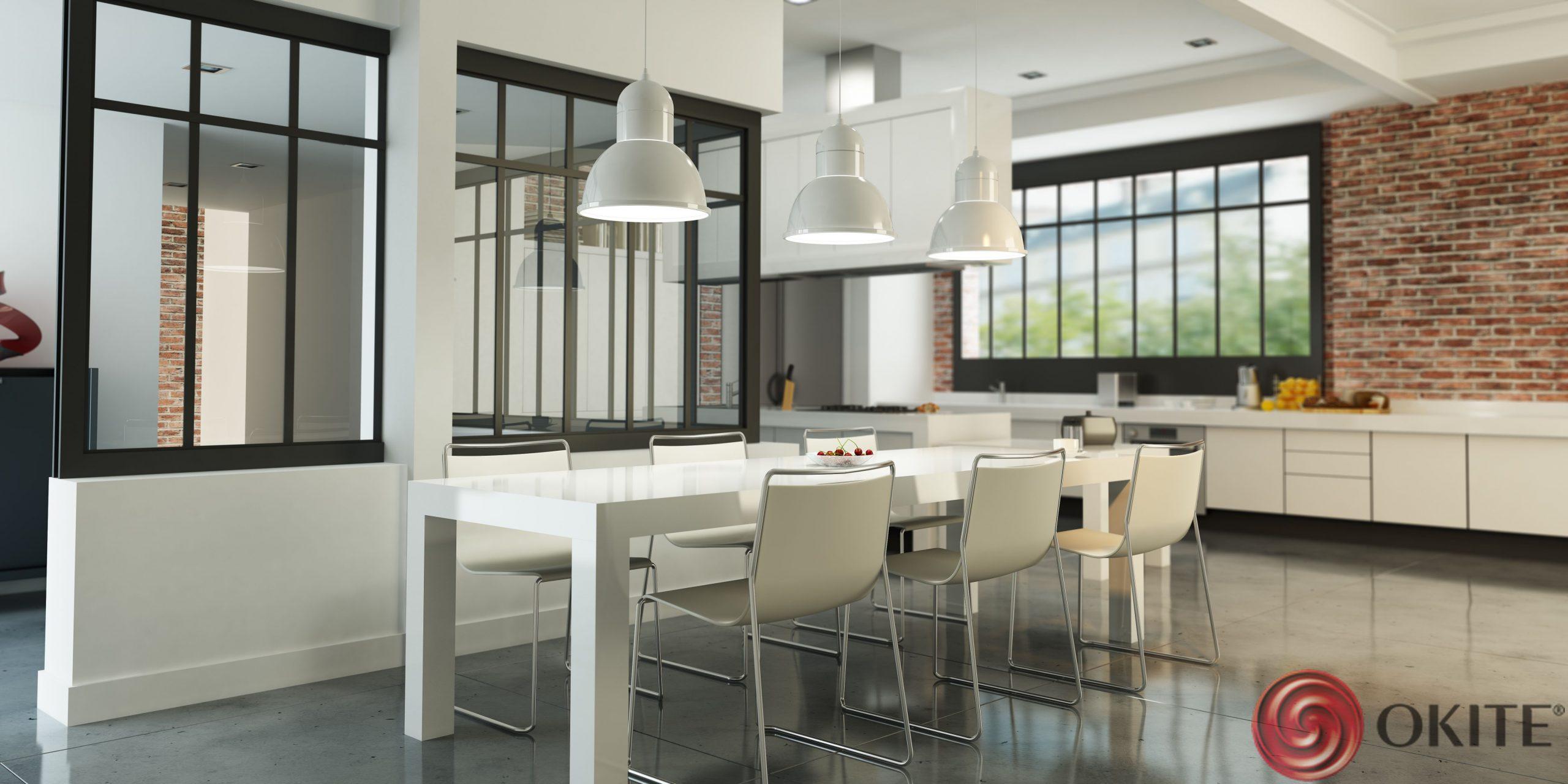 biela kuchyňa Okite