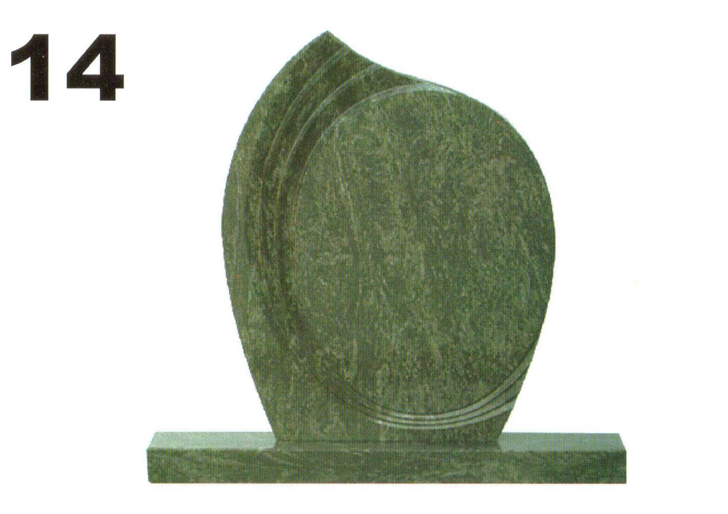 tvarovaný pomník