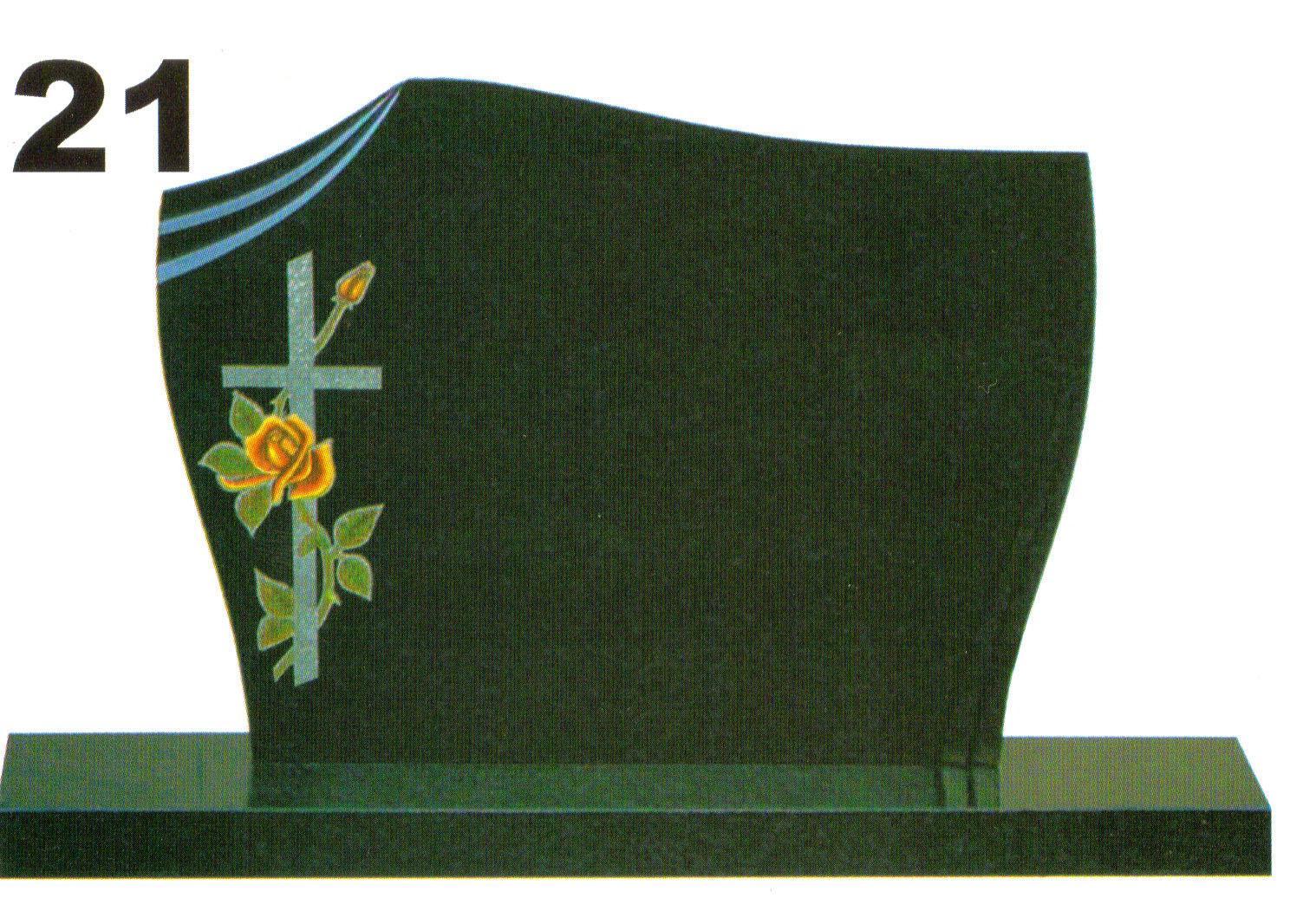 pomník s obrázkom a tvarovaním
