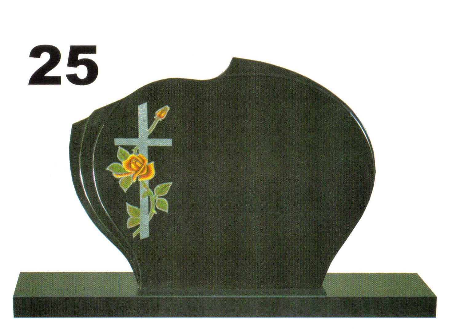 čierny pomník s obrázkom