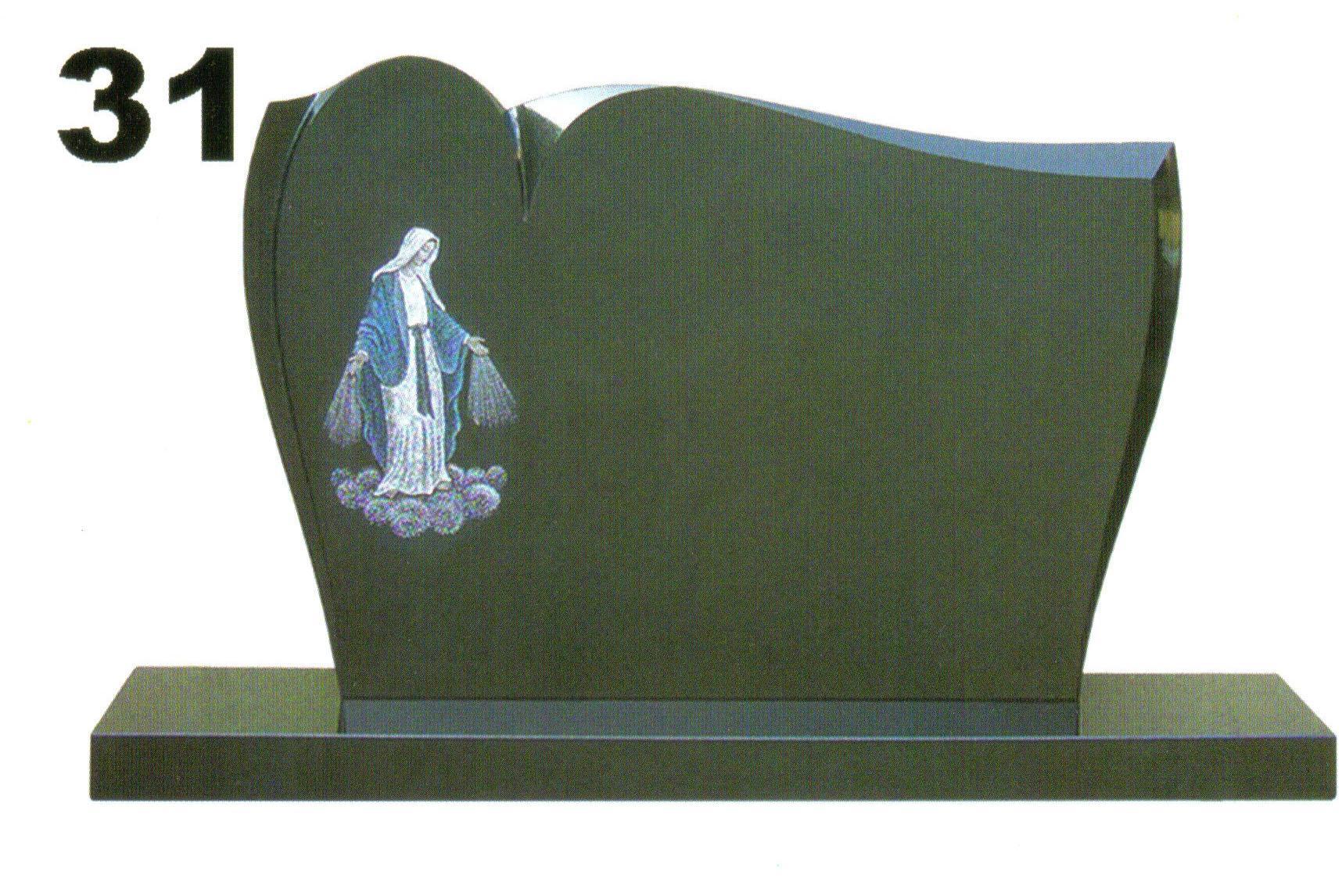 pomník s pannou Máriou