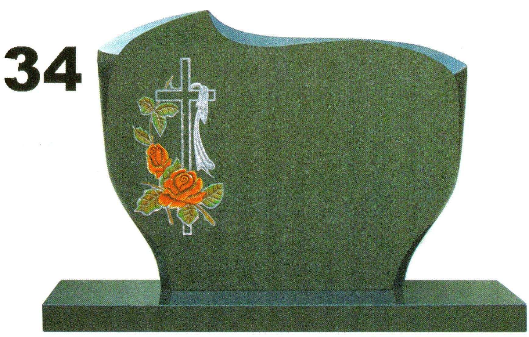 pomník s farebným pieskovaním